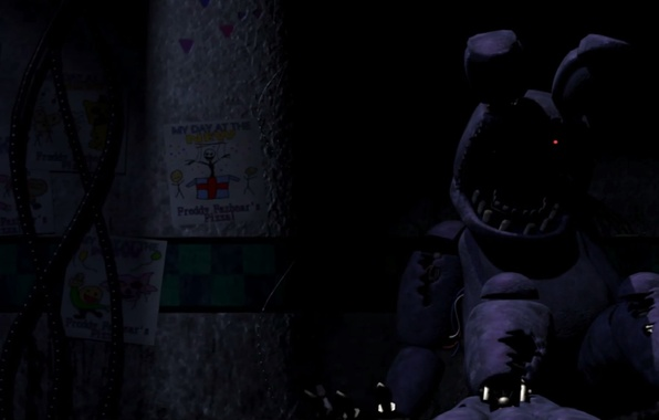 Картинка Рисунки, Parts & Service, Old Bonnie, Animatronic, Five Nights At Freddy's