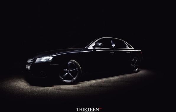 Картинка машина, авто, Audi, седан, диски, auto, sedan, Курск