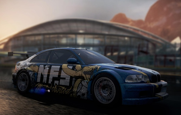 Картинка BMW, GTR, NFS, Need For Speed, Most Wanted