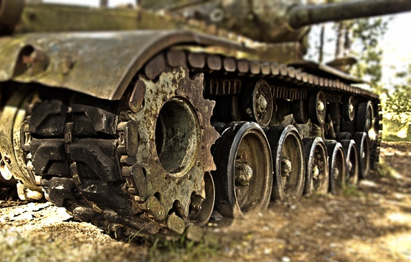 Картинка оружие, танк, гусеницы