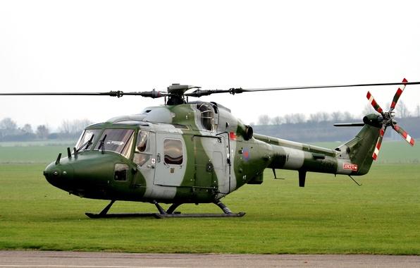 Картинка вертолёт, британский, многоцелевой, Westland Lynx, AH.7, Уэстленд «Линкс»