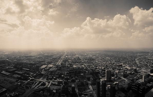 Картинка небо, города, здания