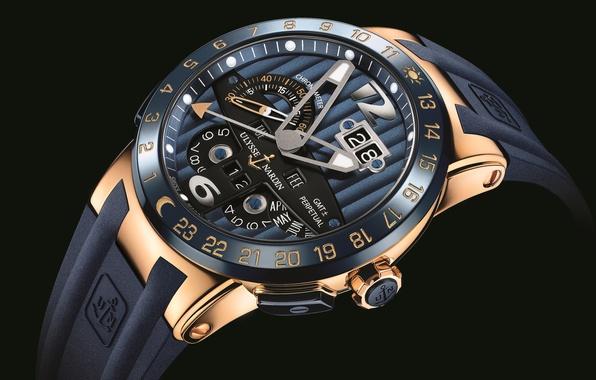 Картинка Часы, Blue, Ulysse, Nardin, LARGE, Toro