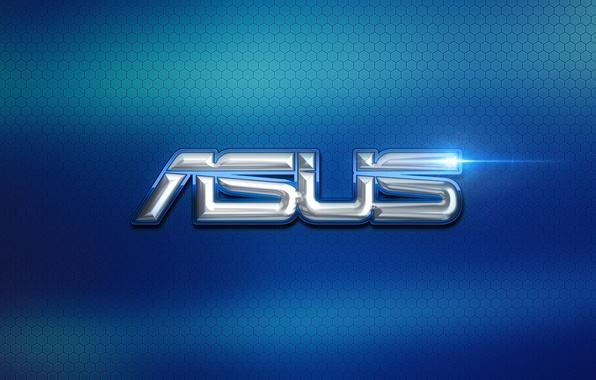Картинка компьютер, обои, логотип, logo, текстуры, hi-tech, asus, асус