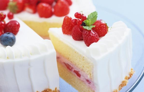 Картинка ягоды, торт, десерт, сладкое, вкусно, yammy