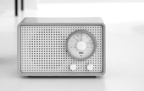 Картинка радио, приёмник, Braun