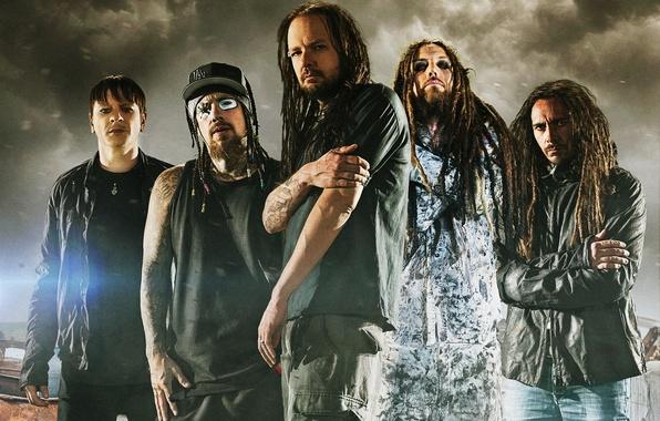 Картинка музыка, music, Korn, Корн, nu metal, ню метал, Джонатан Дэвис, Рэй Лузье, Филди, Манки, Хэд