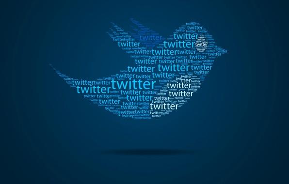 Картинка полет, абстракция, птица, крылья, птичка, сообщение, сайт, Twitter, блог, твиттер