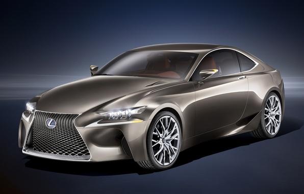 Картинка Concept, фон, купе, Lexus, Концепт, Лексус, передок, LF-CC