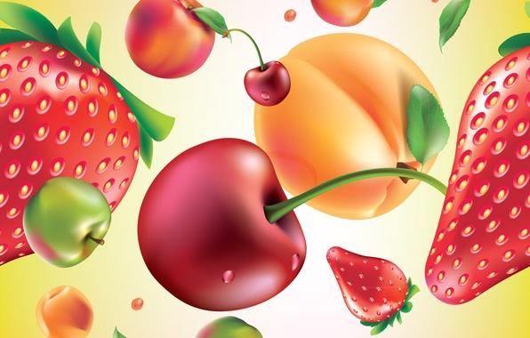 Картинка ягоды, текстура, фрукты, texture, fruits, berries