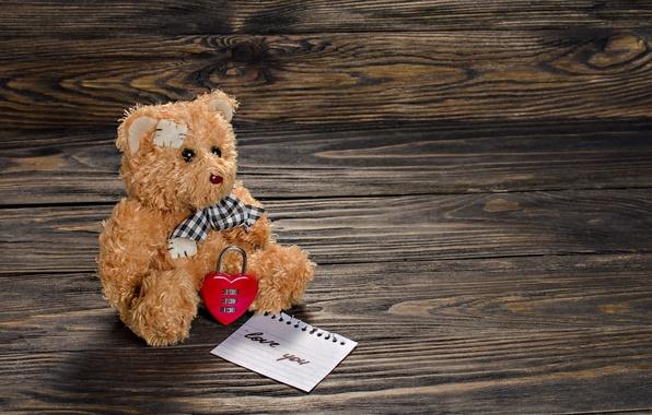 Картинка любовь, романтика, сердце, мишка, love, bear, heart, romantic, teddy