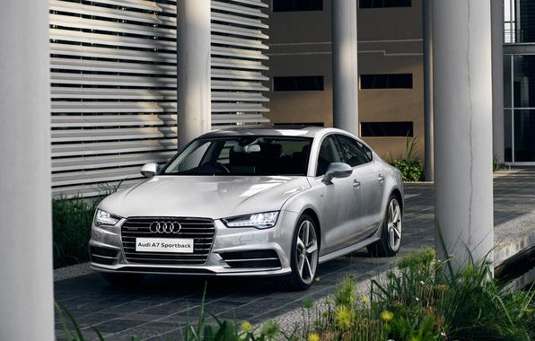 Картинка Audi, ауди, TDI, quattro, Sportback, 2015, ZA-spec, S line