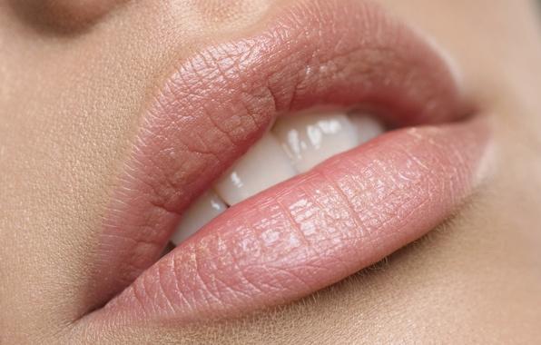 Картинка woman, lips, skin, teeth