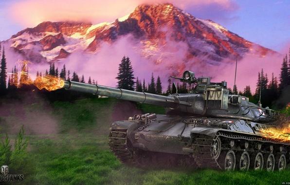 Обои для рабочего стола мир танков