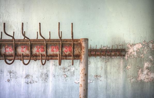 Картинка фон, стена, вешалка