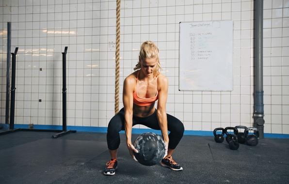 Картинка fitness, training, crossfit, weightlifting, training ball