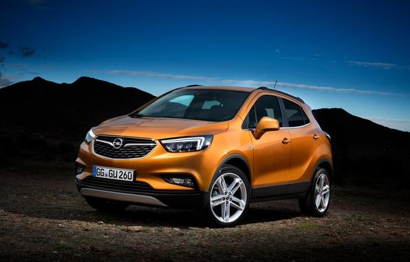 Фото обои мокка, Opel, кроссовер, опель, Mokka