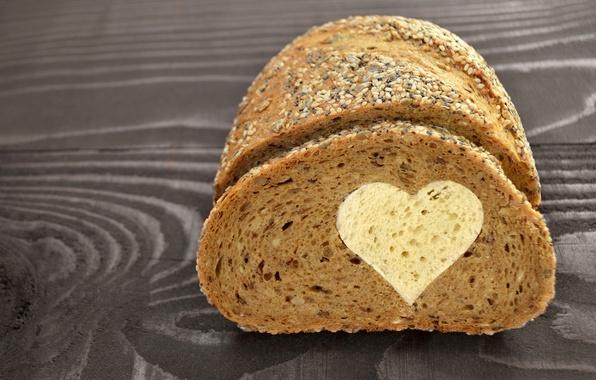 Картинка любовь, сердце, хлеб, love, выпечка, romantic, sweet