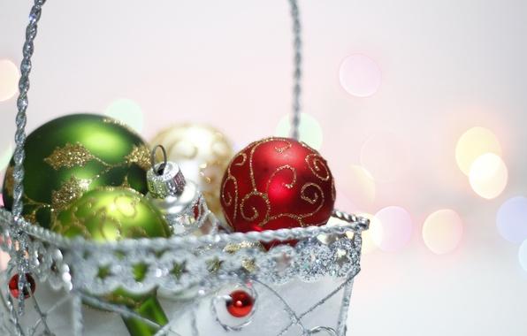 Картинка фон, праздник, игрушки