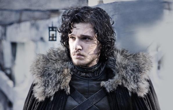 Картинка фентези, Game of Thrones, Игра престолов, Джон Сноу, бастард, Jon Snow
