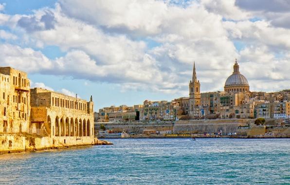 Картинка Средиземное море, Malta, Мальта, Валлетта, Valletta