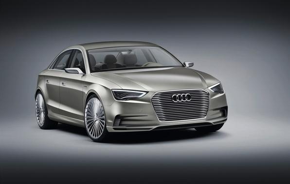 Картинка Concept, Audi, ауди, седан, Sedan, e-Tron, электрокар