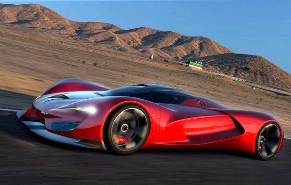 Картинка Dodge, Vision, додж, Tomahawk, SRT, Gran Turismo, 2015