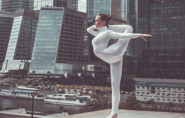 Картинка девушка, фотограф, girl, photography, photographer, гимнастка, Александр Савичев