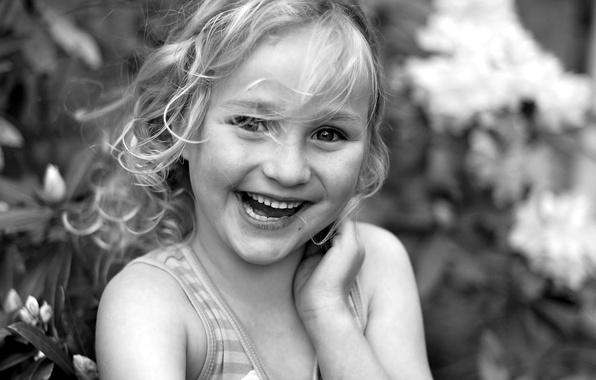Картинка улыбка, настроение, портрет, девочка