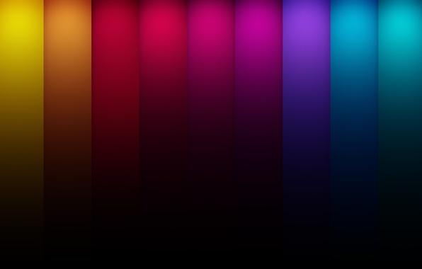 Картинка цвета, линии, синий, красный, абстракция, полосы, жёлтый, colors, зелёный lines
