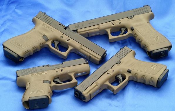 Картинка Австрия, Обои, Стволы, Оружие, Wallpapers, Guns, Austria, Огнестрел, Глоки, Glock 19, Пушки, Пистолеты, Glock 17, …