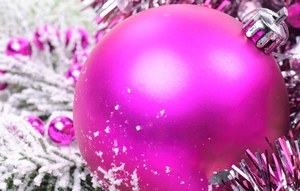 Картинка праздник, игрушка, шар, рождество, украшение