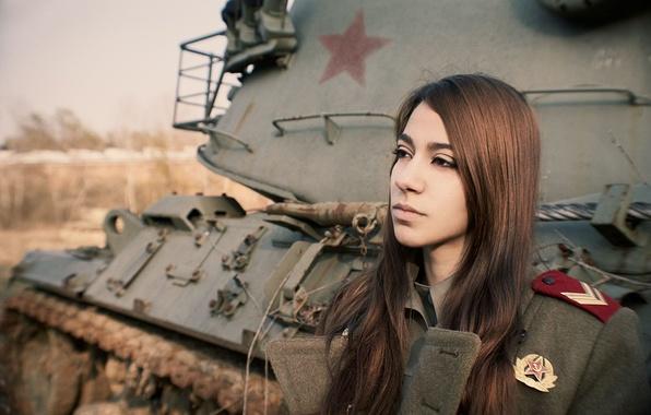 Девушка танкиста в форме фото фото 643-838
