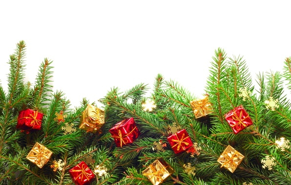 Картинка украшения, елка, Новый Год, Рождество, подарки, Christmas, Xmas, decoration, gifts, Merry