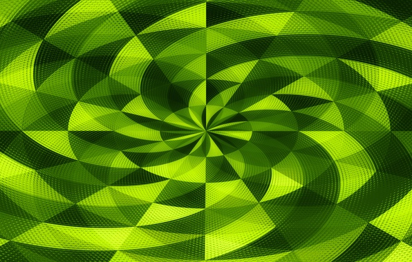 Картинка мозаика, абстракция, круг, спираль, объем, центр, рельеф
