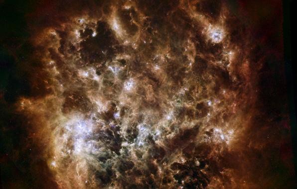 Картинка космос, взрыв, звезда