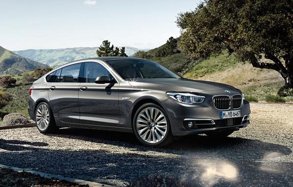 Картинка обои, бмв, BMW, автомобиль, красивый, xDrive, Gran Turismo, 535i, Luxury Line