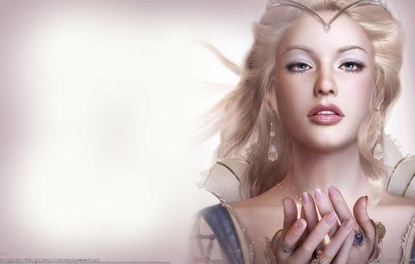 Картинка девушка, портрет, красота, фея, soa lee