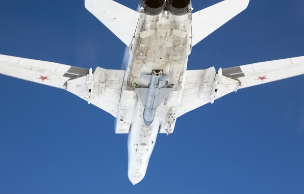 Картинка ракета, бомбардировщик, самолёт, Военный, Туполев, Ту-22, Х-22