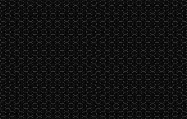 Картинка metal, black, grid, pattern