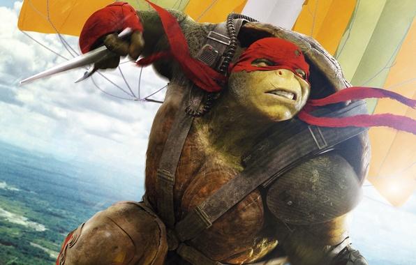 Картинка фэнтези, Raphael, Teenage Mutant Ninja Turtles: Out of the Shadows, Черепашки-ниндзя 2