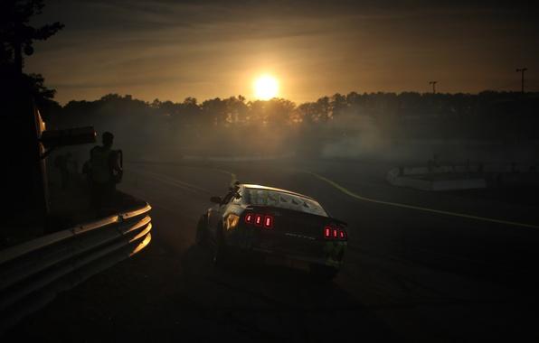 Картинка mustang, мустанг, дрифт, drift, ford, форд, formula, 2013
