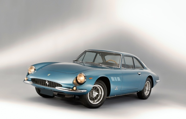 Картинка фон, Феррари, Ferrari, классика, 500, передок, 1964, Superfast