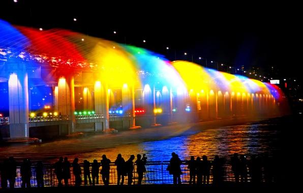 Картинка фонтан, South Korea, Сеул, Seoul, Южная Корея, fountain
