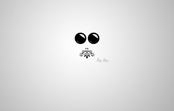 Картинка глаза, лицо, блики, узор, минимализм, рот, мини, силуэт, minimal, очки, блик, орнамент, mini, широкоформатные обои, …