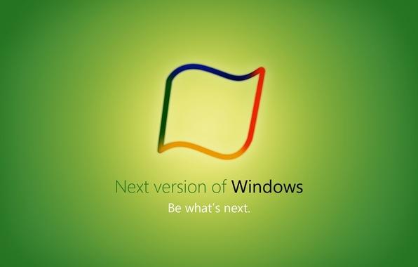 Картинка green, windows, Hi Tech