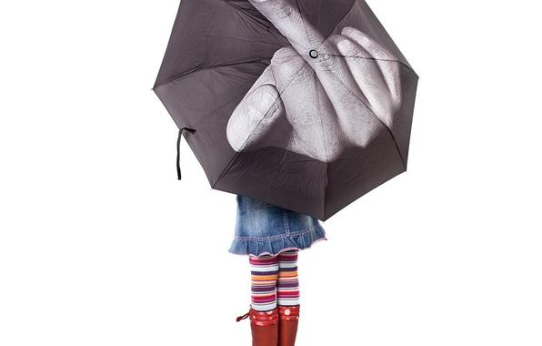 Картинка зонтик, фак, девочка, лебедев, vfuck, fuck