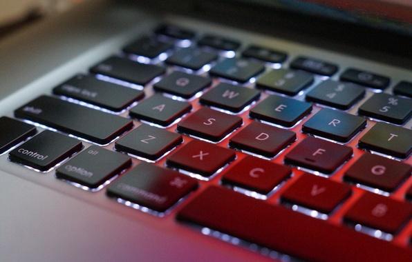 Картинка apple, mac, macbook, keyboard