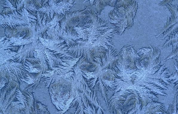 Картинка зима, снежинки, узор