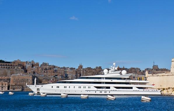 Картинка яхта, Malta, Мальта, Валлетта, Valletta